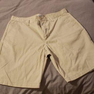 Mens Old Navy Khaki Shorts W36